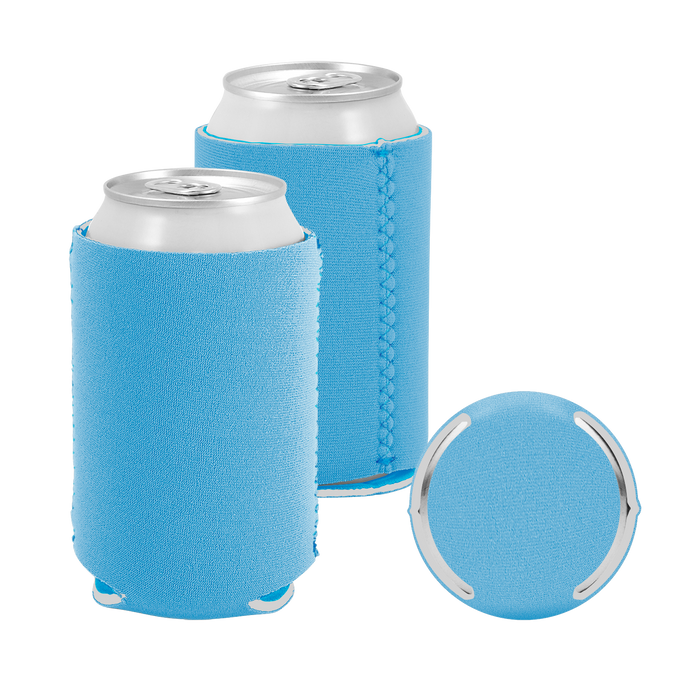 Sky Blue Premium Collapsible Neoprene Koozie