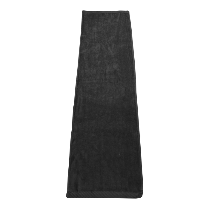 Black Endurance Color Fitness Towel