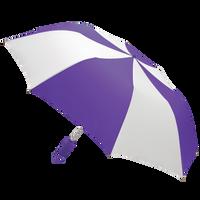 Purple/White Classic Umbrella Thumb