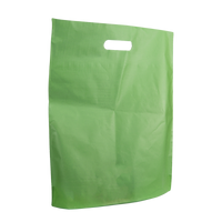 Lime Large Frosted Die Cut Bag Thumb