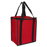 Red Square Top Insulated Tote Thumb