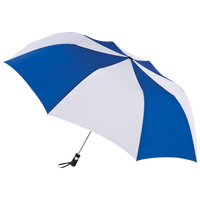 Royal/White Stratus totes® Umbrella Thumb