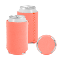 Light Coral Premium Collapsible Neoprene Koozie Thumb