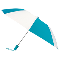 Teal/White Atlas Umbrella Thumb