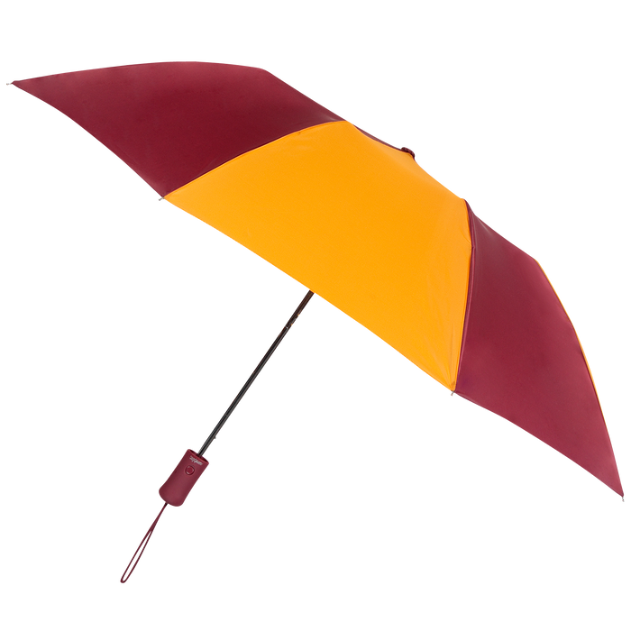 Burgundy/Gold Atlas Umbrella