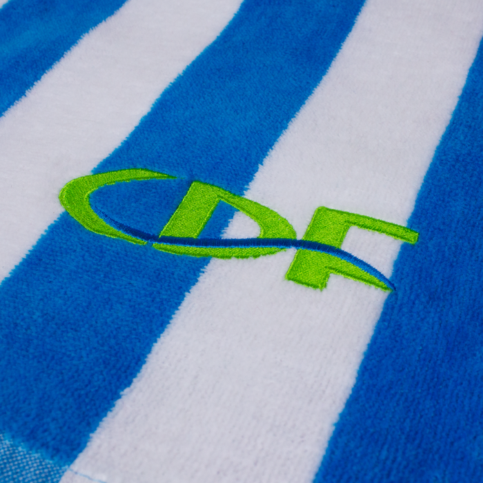 Latitude Striped Beach Towel