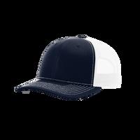 Navy/White Richardson Trucker Snapback Hat Thumb