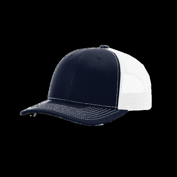 Navy/White Richardson Trucker Snapback Hat