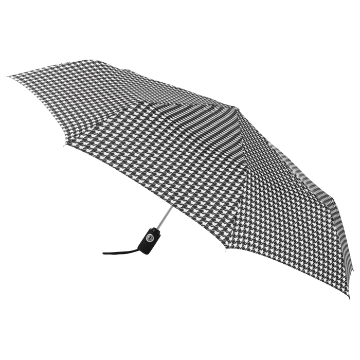 Houndstooth Aquarius totes® Umbrella