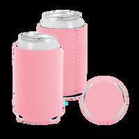 Pastel Pink Premium Collapsible Neoprene Koozie Thumb