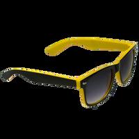 Black/Yellow Daytona Sunglasses Thumb