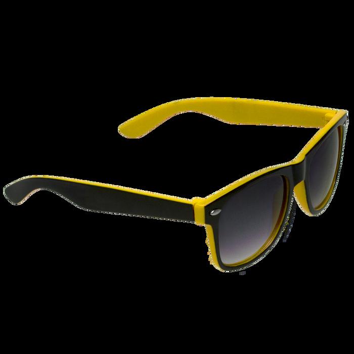 Black/Yellow Daytona Sunglasses