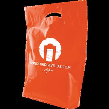 Medium Die Cut Plastic Bag