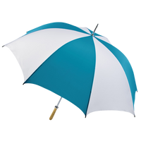 Teal/White Jupiter Umbrella Thumb
