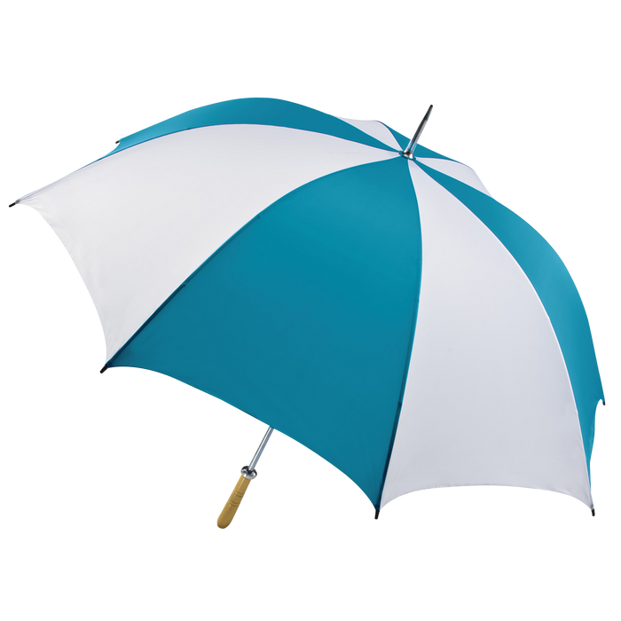 Teal/White Jupiter Umbrella
