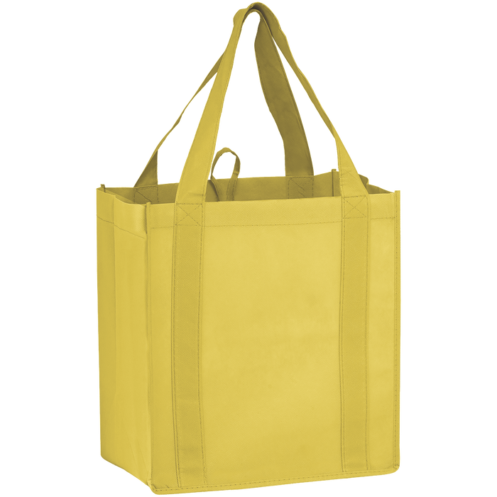 Yellow Little Storm Grocery Bag