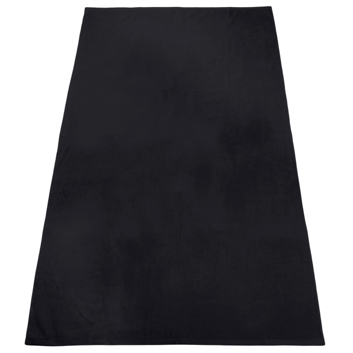 Black Nautica Color Beach Towel