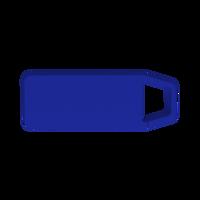 Royal Blue Mini Clip-On Bluetooth Speaker Thumb