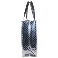 Metallic Designer Laminated Tote Thumb