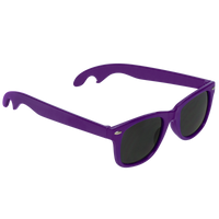 Purple Panama Bottle Opener Sunglasses Thumb