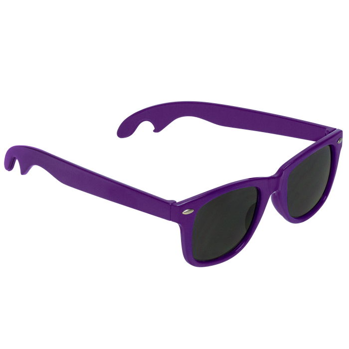 Purple Panama Bottle Opener Sunglasses