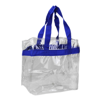 Royal Blue Heavyweight Vinyl Tote Bag Thumb