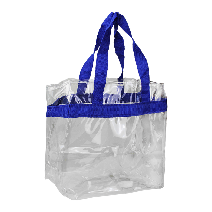 Royal Blue Heavyweight Vinyl Tote Bag