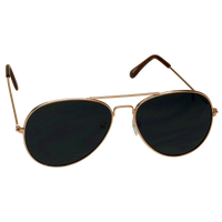 Gold Classic Aviator Sunglasses Thumb
