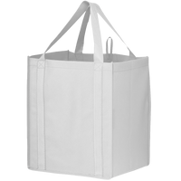 White Big Storm Grocery Bag Thumb