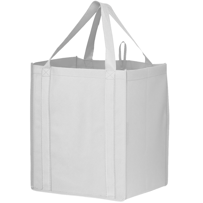 White Big Storm Grocery Bag