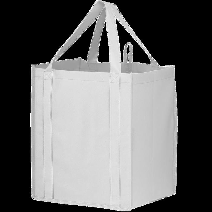 White Big Storm Grocery Bag