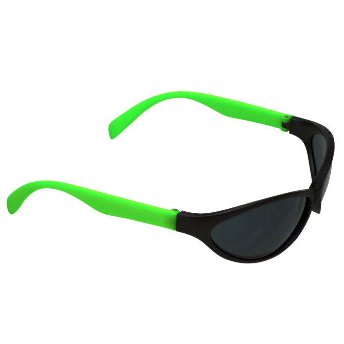 Neon Green Value Sport Sunglasses
