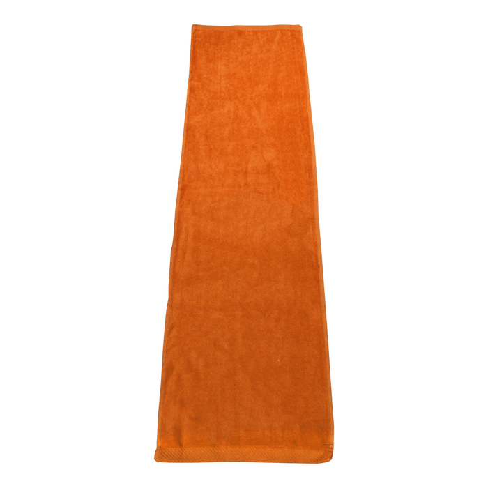 Orange Endurance Color Fitness Towel