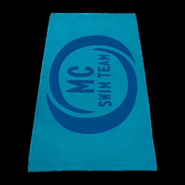 color beach towels,  best selling towels,  silkscreen imprint,