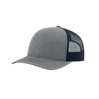 Heather Grey/Navy Richardson Trucker Snapback Hat Thumb