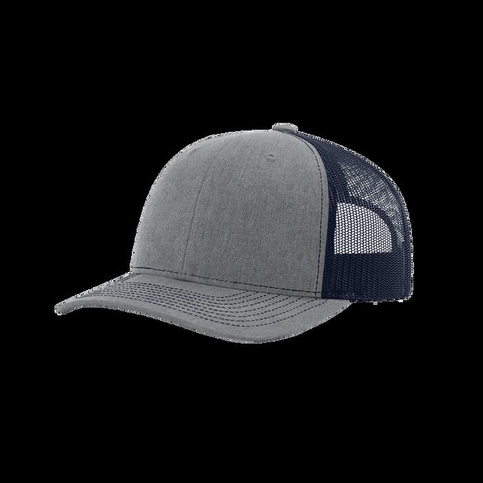 Heather Grey/Navy Richardson Trucker Snapback Hat