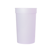 Purple Color Changing Stadium Cup Thumb