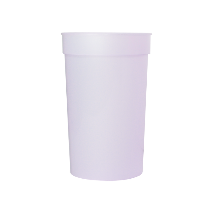 Purple Color Changing Stadium Cup