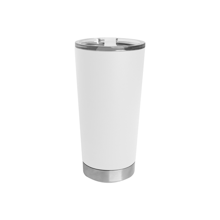 White Small Stainless Steel Insulated Tumbler