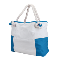 Turquoise Bungalow Beach Bag Thumb