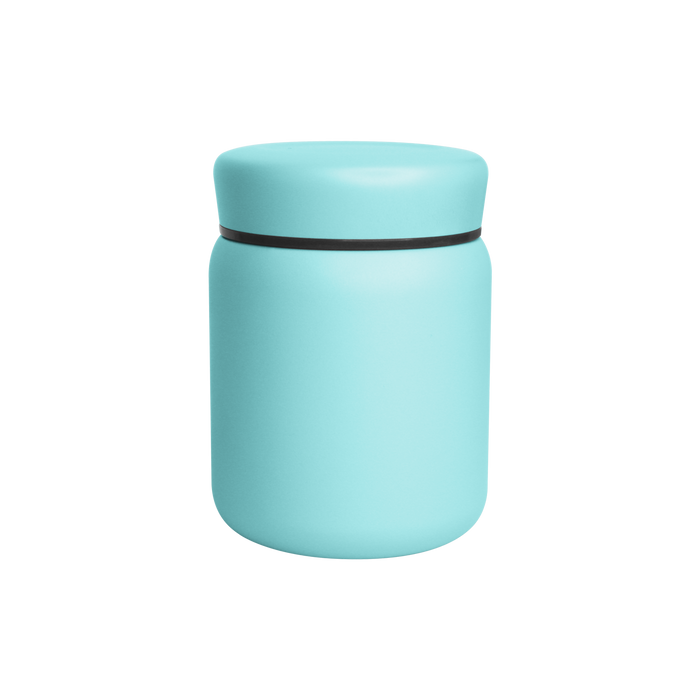 Matte Mint Stainless Steel Insulated Food Canister