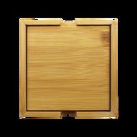Bamboo Coaster Set Thumb