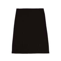 Black Ultraweight Colored Fitness Towel Thumb