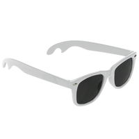 White Panama Bottle Opener Sunglasses Thumb