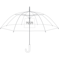 Luna Clear Umbrella Thumb