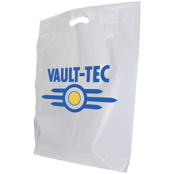 Large Eco-Friendly Die Cut Plastic Bags