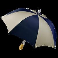 Navy/Tan Jupiter Umbrella Thumb