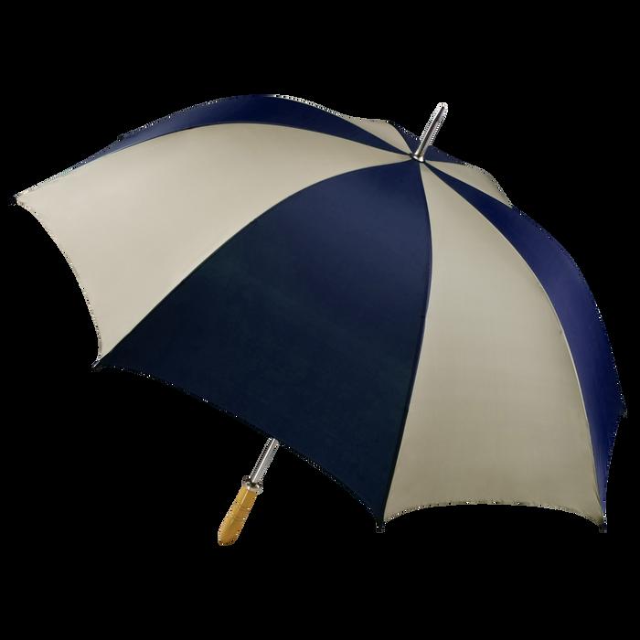 Navy/Tan Jupiter Umbrella