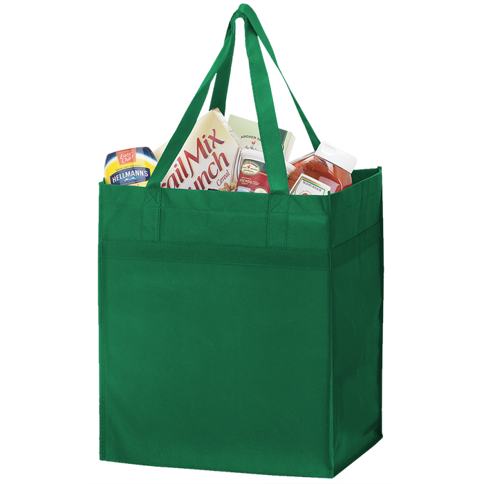 Green Big Tex Grocery Bag