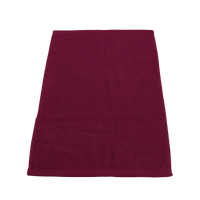 Maroon Heavyweight Colored Fitness Towel Thumb